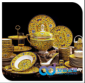 陶瓷餐具个性创意,景德镇陶瓷餐具厂家批发定制